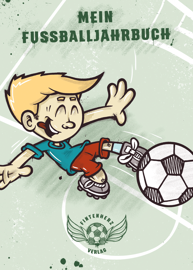 Fussballjahrbuch cover front